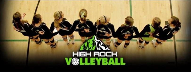 High rock volleyball  2
