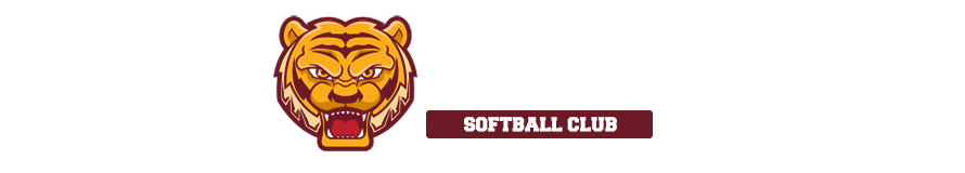 Tiger softball club website header banner