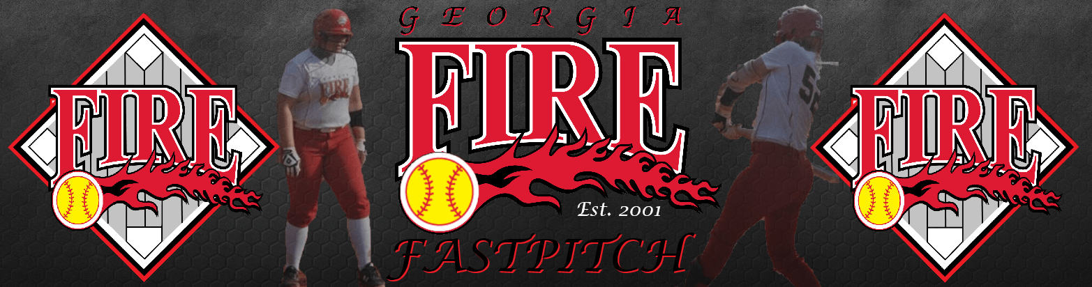 New ga fire banner blk wr