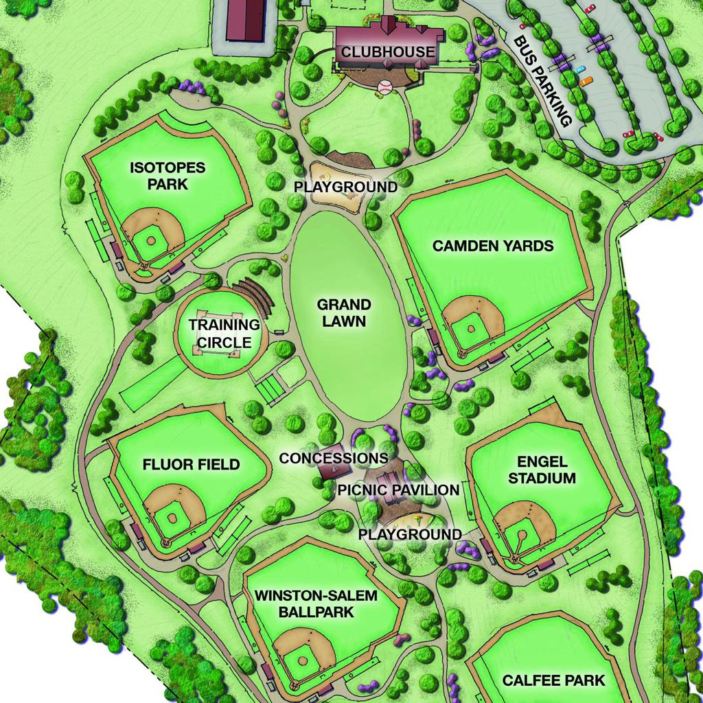 Facilities - Pigeon Forge, TN | The Ripken Experience on