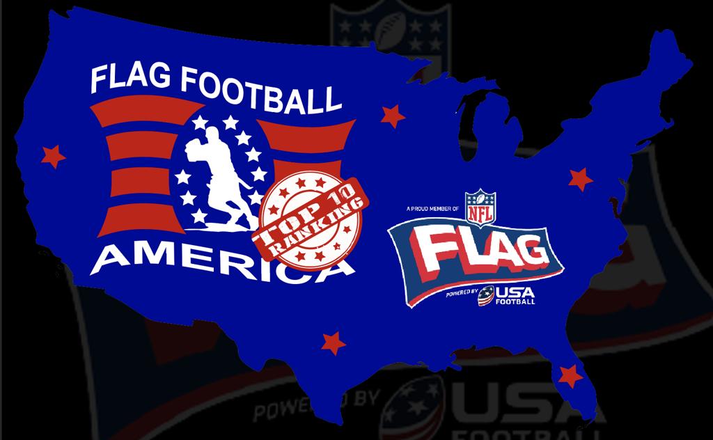 2017 NFL FLAG Travel Team Organizations Top 10 Rankings