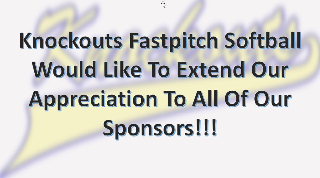 Knockouts Fastpitch Softball