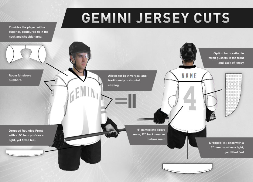 Gemini Jersey Cuts Outline 15758b321