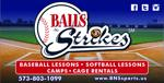 Balls n strikes sign