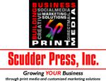 Scudder press logo