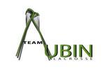 Aubin logo tal white