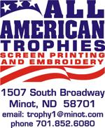 All american trophies