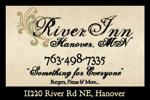 River inn business card ad color 2