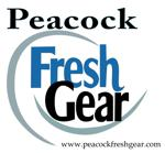 Peacock fresh gear logo