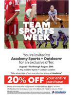 Fteam sports week fall 20