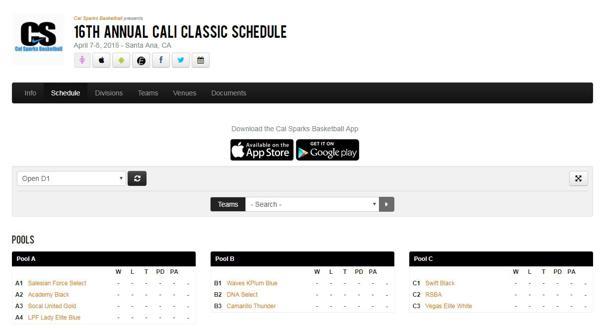 RSBA 17u at 16th Annual Cal Sparks Cali Classic