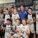 8th Grade Boys Gold after winning the Northern Tier Elite Championship.