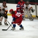 Allie Guzy in her second season playing varsity hockey.
