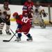 Allie Guzy in her second season playing varsity hockey.