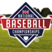 National Baseball Championships Logo