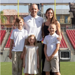 Coach Joey King and Family