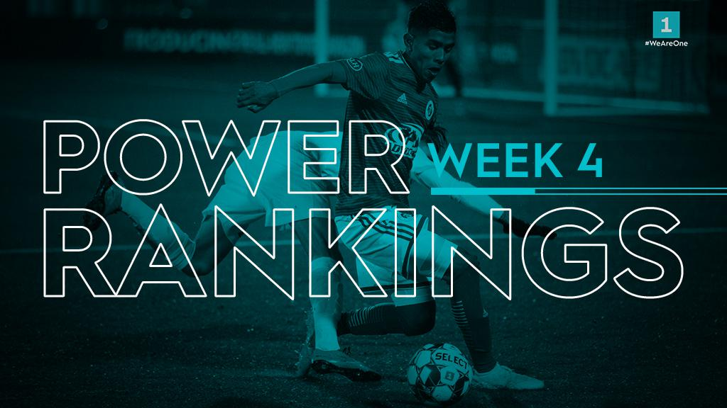 USL League One Power Rankings – Week 4