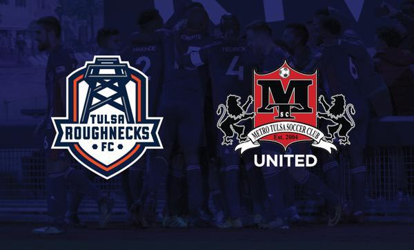 a92e6df8acf Tulsa Roughnecks FC Announce Partnership with Metro Tulsa Soccer Clubs  United