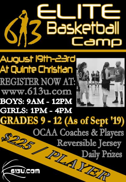 Elite Basketball Camp