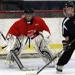 Charlie Lindgren at Dave Peterson Goalie Camp.