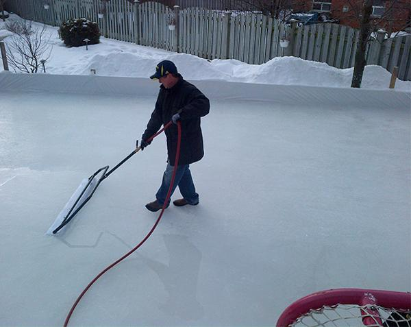 Ultimate Backyard Rink : PODCAST  How to Build The Ultimate Outdoor Rink