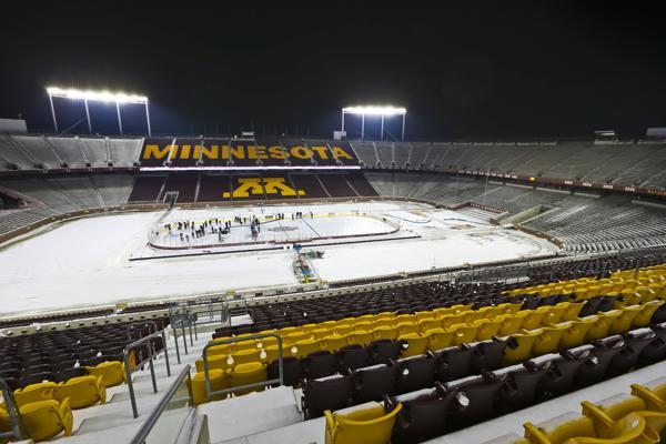MN H.S.: Outdoor Prep Hockey Games To Be Streamed Online Saturday