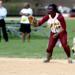 Loyola first baseman Darice Wheeler