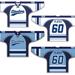 Sample of New NCCYHA Hockey Jersey's
