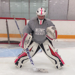 Rory MacKillop, goaltender at the North Shore Winter Club.
