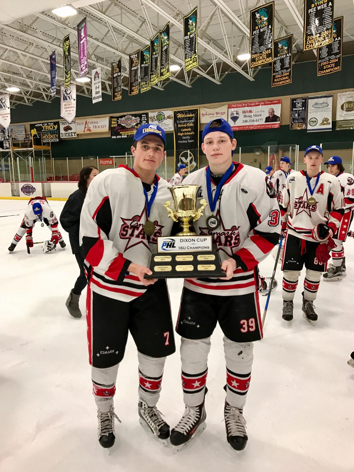 Two Esmark U18 Stars Announce College Hockey Commitment c223d9828