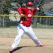 Mitch Melmquist worked a scoreless sixth inning versus Cooper to earn the victory in his first varsity appearance.