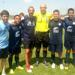 Texas Spurs boys guest playing in Dallas Cup with Howard Webb as referee