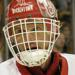 Dominik Hasek with the Detroit Red Wings of the National Hockey League.