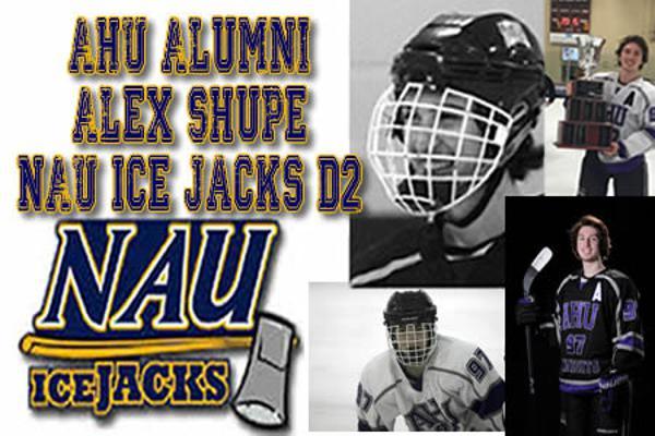 Ahu Alumni Alex Shupe To Play For Nau Ice Jacks D2