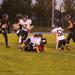 Ryan Young tackles Sabre receiver last Thursday night