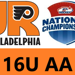 Girls 16U AA win 3 – 2 on Hanson's OT goal in game two of Pool Play at Nationals