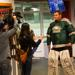 Eagles Goalie, Nic Urban is interviewed by WCCO for a story to air during the Campaign.