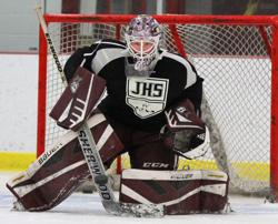 MN H.S.: Goalie Sam Moberg Is St. Paul Johnson's Ironman