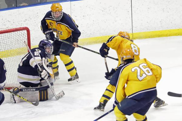 MN H.S.: Ellingson Notches Game-winner As Breck Beats St. Paul Academy In OT