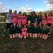 The victorious Seneca Girls Cross Country Team