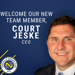 Welcome Our New Team Member, Court Jeske