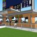 A new Scoreboard Bar is being constructed at ONEOK Field for the 2017 season.