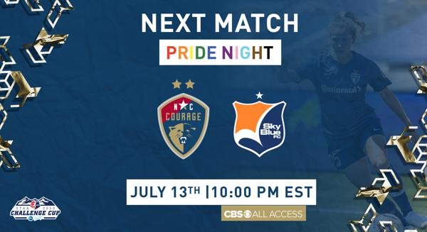 NC Courage Secure Top Seed, Look to Secure Fourth Win in Challenge Cup