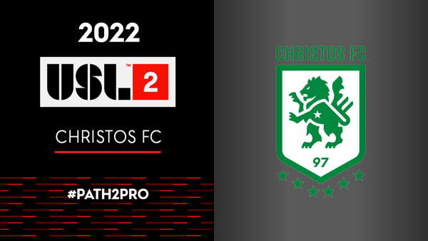 Christos FC Set to Join USL League Two for the 2022 Season