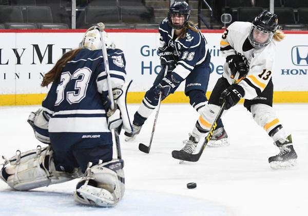 MN H.S.: Girls - Northalnd Actionat The X, Gardner, Oelkers Lead Warroad Over Hibbing/Chisholm