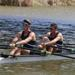 The Men's 2x (A) entry of Kris Schumann and Chris Cail won their event at the Sarasota Invitational Regatta.