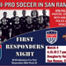San Ramon FC NPSL April 13 Soccer Match