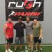 Ed Hisey--RUSH Founder, Eric Gardner-Athletics Owner, Todd McMillon-Rush Co-Founder, Luke Williamson Director of Strength and Conditioning