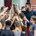 Jason Thompson teaches the campers to reach high for their goals