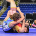 The pin at 100 pounds that changed the entire match. Losing 11-2 to CA's Nina Pham, WA's Kenzie Cormier crotch lifts Pham to her back. FARGO GIRLS CHAMP DUALS 2017